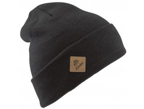 jones zimni cepice baker beanie heather black 19 20