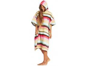 Billabong pončo dámské Hoodie Towel Serape 19 20