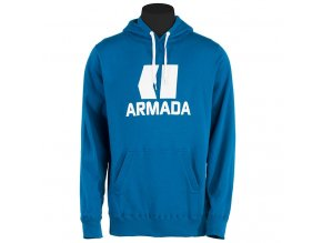 Armada mikina CLASSIC PULLOVER HOODY blue 14/15
