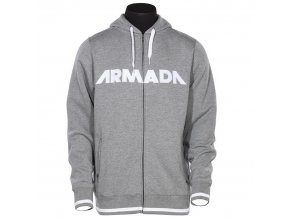 Armada mikina REPRESENT HOODY heather grey 14/15