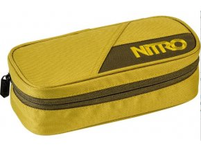 Nitro penál Pencil Case golden mud