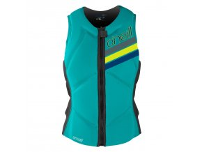 vesta o neill wms slasher comp vest light aqua graphite