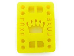 "Luxe podložky na longboard Riser Pads Yellow 1/4"" 6mm 2ks"