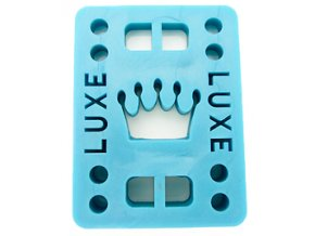 "Luxe podložky na longboard Riser Pads blue 1/2"" 12mm 2ks"