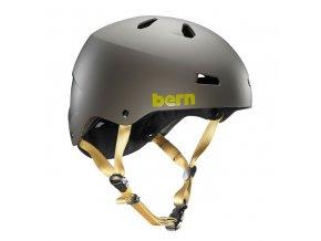 Bern helma Macon matte charcoal grey  + doručení do 24 hod.