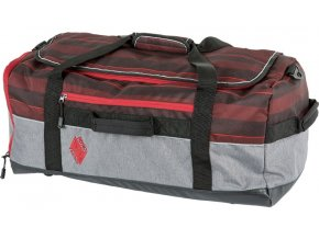 Nitro cestovní taška Duffle Red Stripes