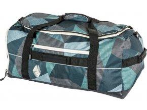 Nitro cestovní taška Duffle fragments green