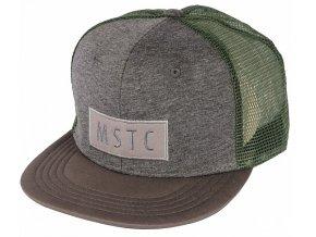 Mystic MSTC Cap kšiltovka Dark grey trucker