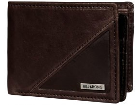 Billabong peněženka Split Leather Wallet Chocolate 17/18