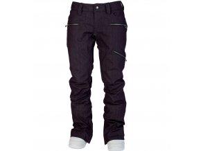 Nitro L1 dámské kalhoty na snowboard Scarlet Opium Overdye Denim