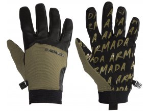 Armada zimní rukavice Throttle Glove olive 17/18
