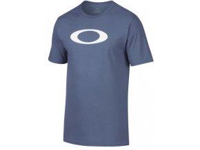 Oakley triko Bold Ellipse Blue Indigo