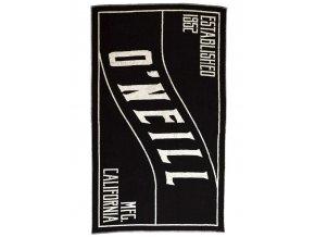O'NEILL plážová osuška Beach Towel black