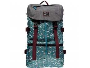 O'NEILL batoh DAVENPORT BACKPAC green AOP