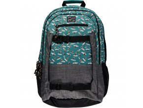 O'NEILL batoh BOARDER BACKPACK Green AOP7M4008 6900 3