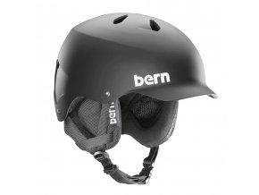 Bern zimní helma Watts Crank Fit matte black 17/18