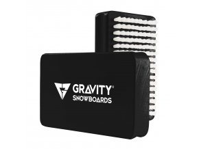 Gravity kartáč Wax brush black/white 17/18