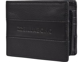 Billabong peněženka Tribong Leather black 18/19