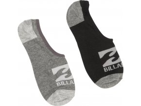 Billabong ponožky invisible 2 Pack