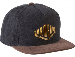 Armada kšiltovka Club Crew Hat heather charcoal 17/18
