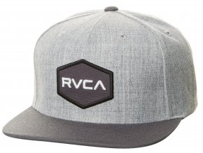 RVCA kšiltovka Commonwealth Athletic Heather