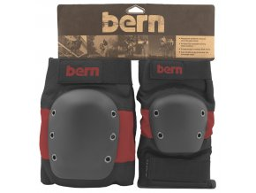 chranic bern adult pad set red on black.JPG