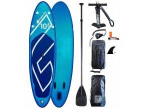Gladiator paddleboard Blue 10,8-34