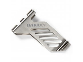 Oakley spona na peníze Metalworks Money Clip Antique Silver
