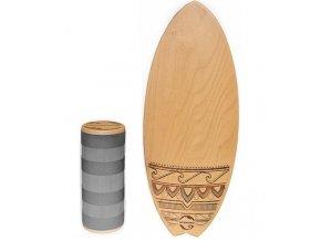 Woodboards Surf komplet Indoboard  + doprava zdarma
