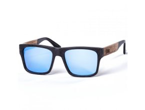 pitcha maasai iii sunglasses carbonize blue walnut