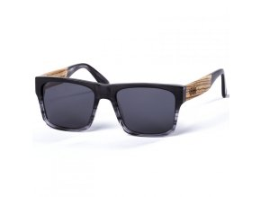 pitcha maasai iii sunglasses smoke grey zebra
