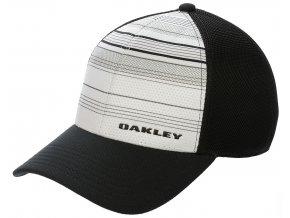 Oakley kšiltovka Silicon Bark Trucker Print 2.0 white S/M