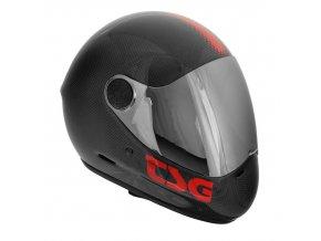 TSG Pass Solid Carbon integrální helma black