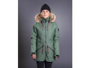 Armada dámská zimní bunda Lynx Insulated Jacket Forest green 18/19