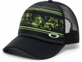 Oakley kšiltovka mesh sublimated trucker update lime green