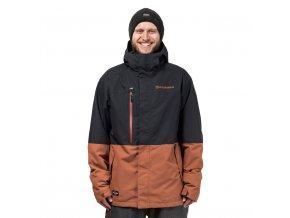Horsefeathers pánská zimní bunda Prowler Jacket Copper 18/19