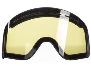 Pitcha náhradní sklo XC3 magnetic yellow