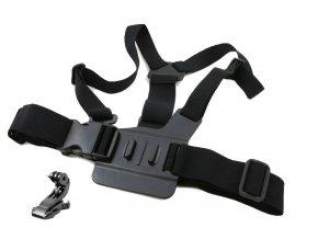 Držák na prsa Chest MOUNT Harness na Gopro + J-hook