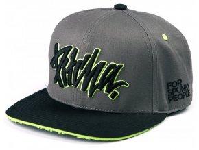 Pitcha kšiltovka FSP Snapback Hat Grey/Fluo