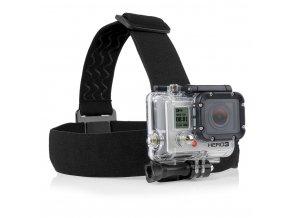 Čelenka na hlavu držák na GoPro head strap mount  + doručení do 24 hod.
