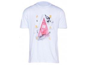 Armada tričko Mountain Vex Tee white