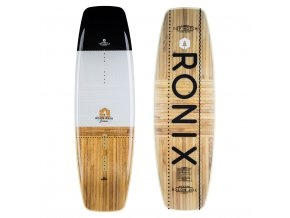 wakeboard ronix top notch black white wood