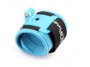 Držák na zápěstí Wrist Strap Arm Bands blue na kameru GoPro, SJ4000, Aee a jiné