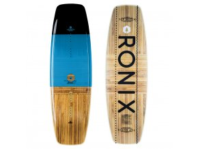 wakeboard ronix top notch black blue wood