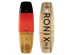 wakeboard ronix top notch black caffeinated wood