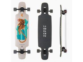 Landyachtz Drop Carve 37 Desert Tiger Longboards Longboard