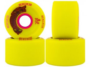 264 remember kolecka hoot slide wheel yellow 70mm 74a 4ks