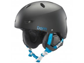 Bern dámská zimní helma Brighton matte black