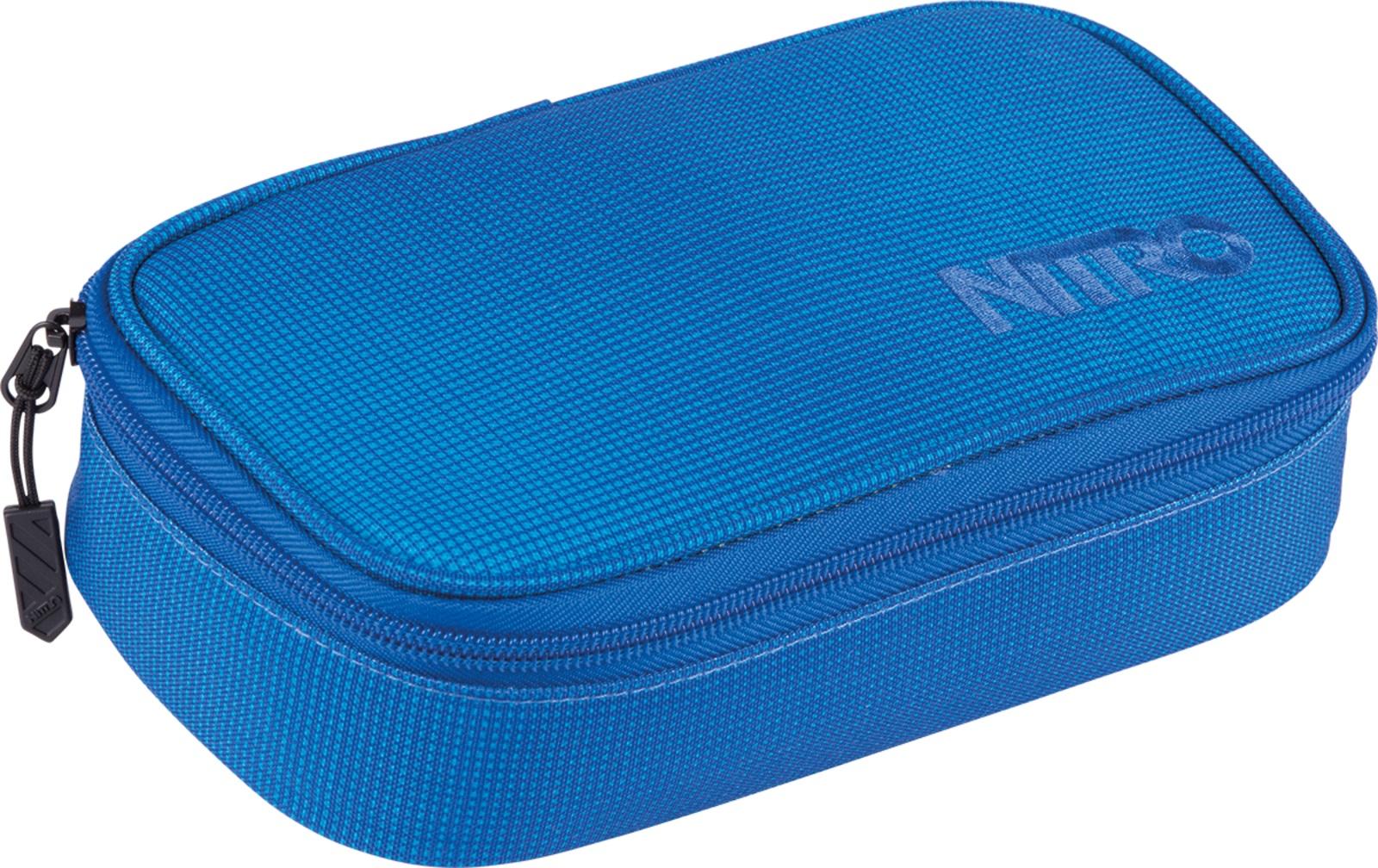 Nitro penál Pencil Case XL Blur Brilliant Blue