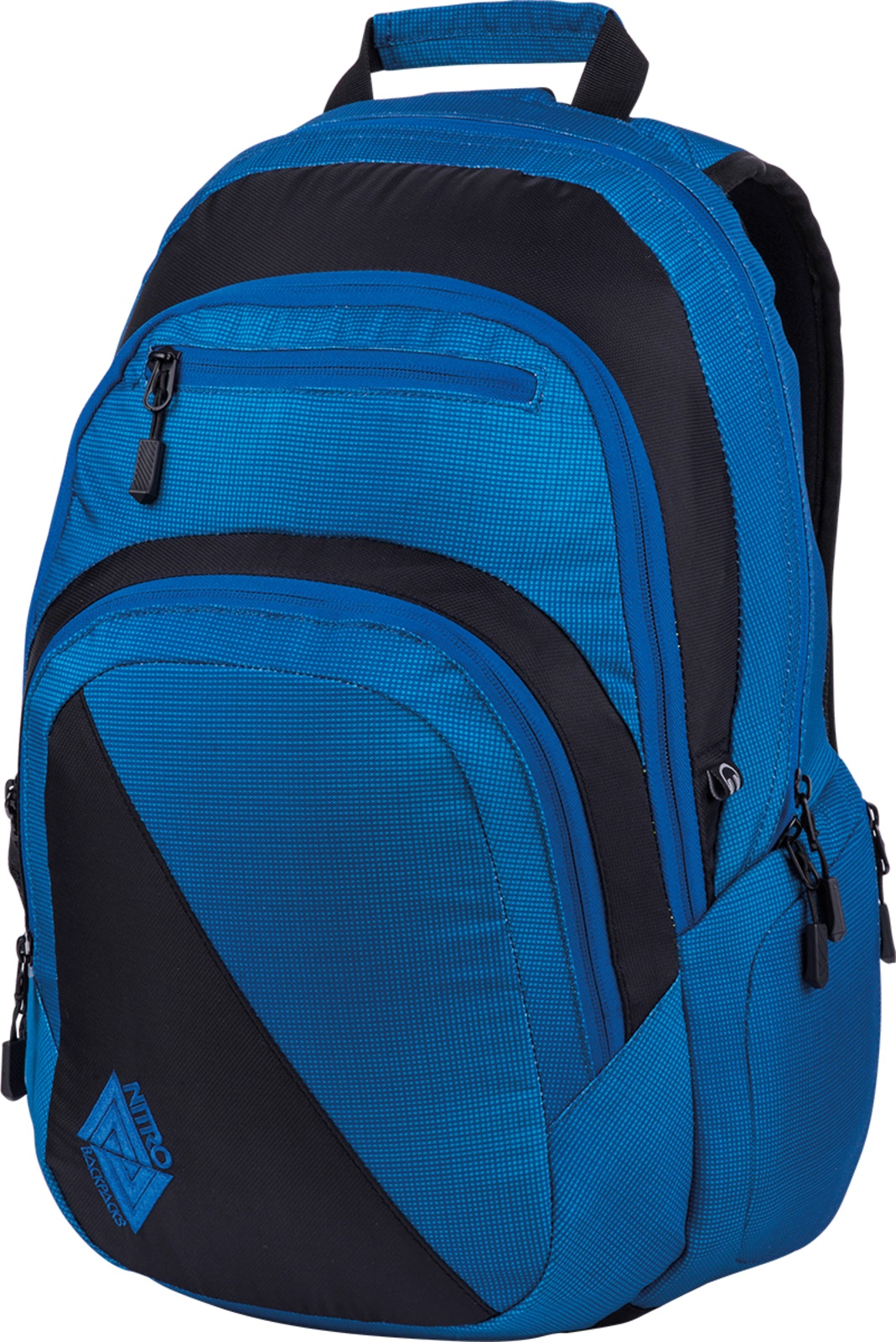 Nitro batoh Stash blur brilliant blue 27l